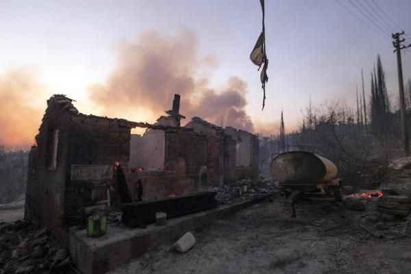 Manavgat'ta kahreden feryat: Böyle acı mı olur Allah'ım?
