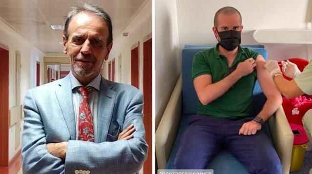 Mehmet Ceyhan'dan 'Oğlu aşı olmuyor' diyenlere fotoğraflı yanıt!