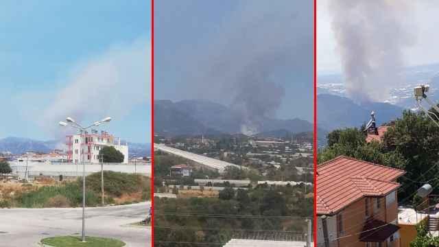Korkulan oldu! Alanya'da yeni yangın