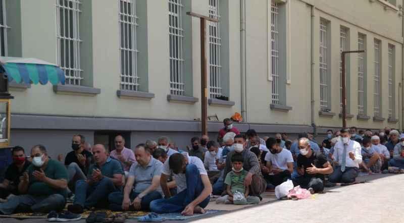 Eskişehir'de Manavgat'taki yangın mağdurları için dua edildi