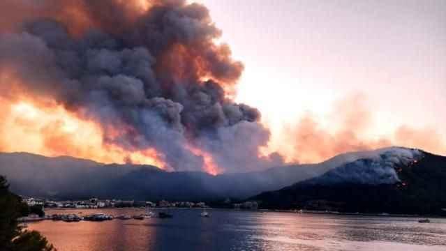 İki gündür cayır cayır yanan Bodrum ve Milas'tan beklenen haber geldi!