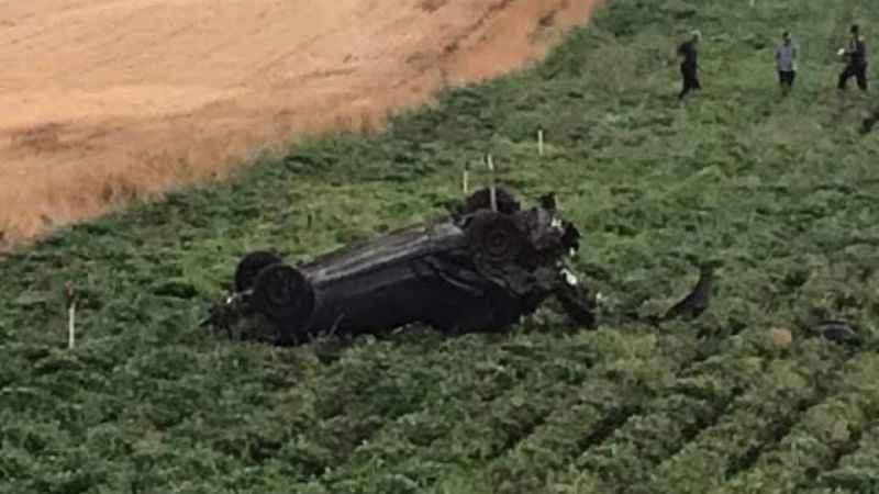 Feci kaza! Otomobil takla attı: 1 ölü