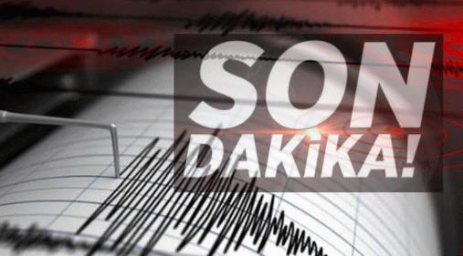 Son Dakika: Datça açıklarında 5.5 büyüklüğünde deprem!