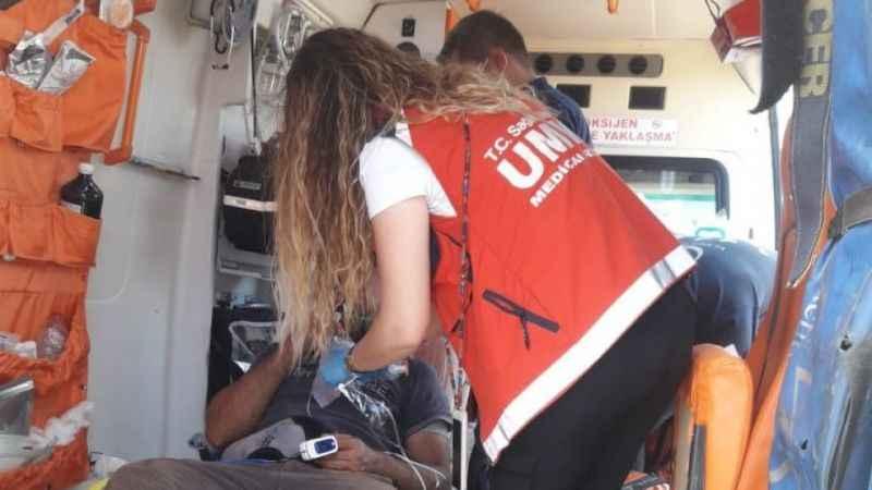 Kayseri UMKE ekibi Manavgat'ın yaralarını sarıyor