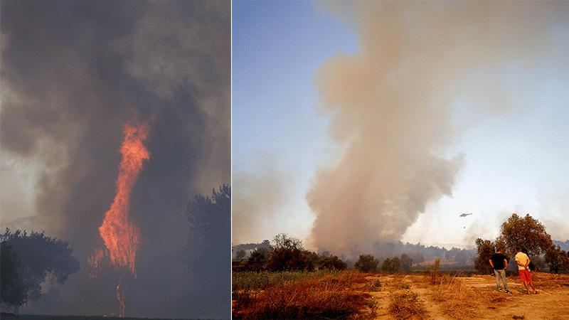 Antalya yangın bölgeleri! Alanya'da yangın devam ediyor mu?