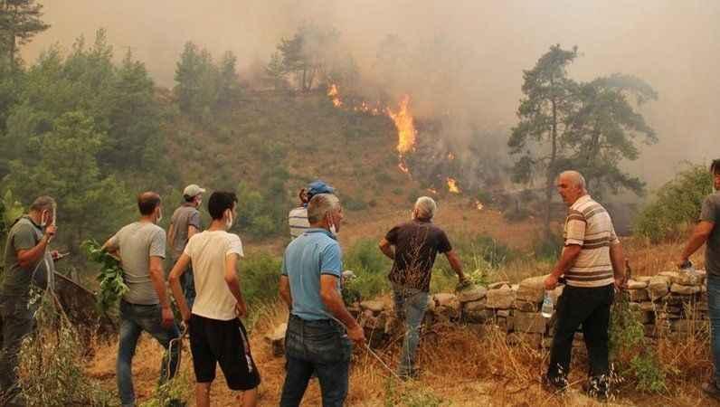 Büyük Manavgat yangını 7.gününde! İşte Manavgat'ta son durum