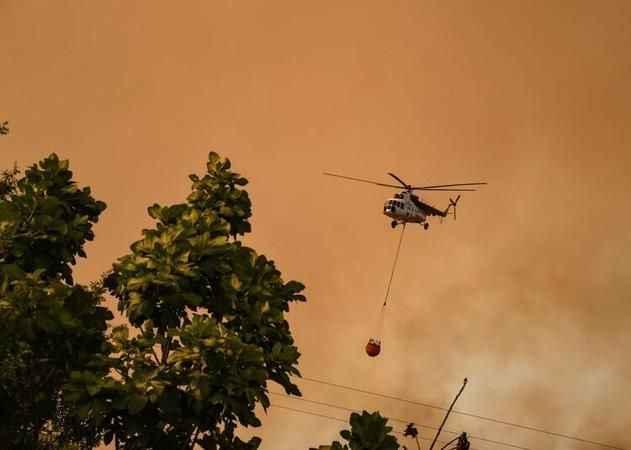 Orman Genel Müdürlüğü'nden düşen helikopter açıklaması