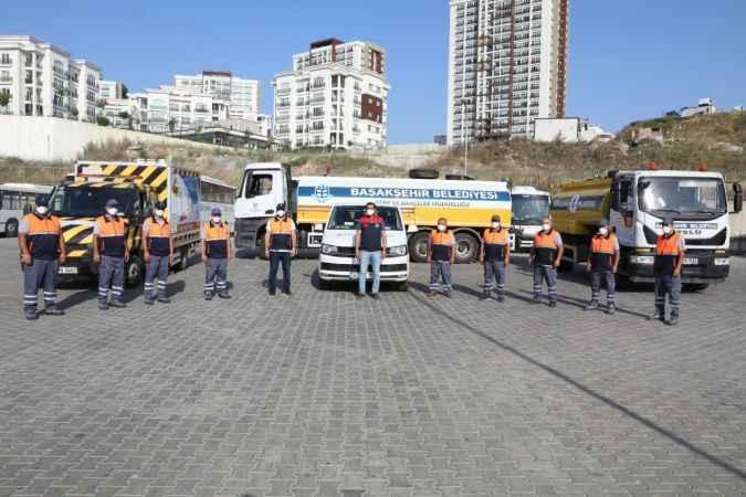 BAŞAKAY ekipleri orman yangınlarıyla mücadele için Antalya'ya geliyor