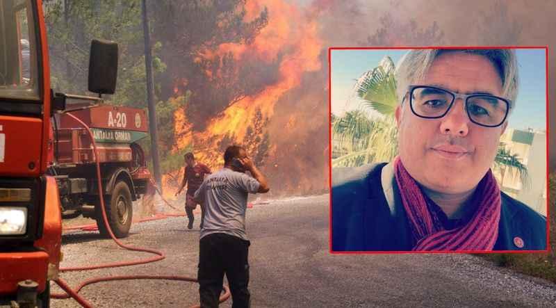 Vatan Partisi Alanya'dan yangın açıklaması