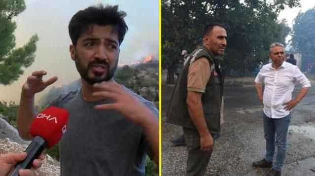 Yangın bölgesinde havaya ateş açan ünlü şarkıcı gözaltına alındı!