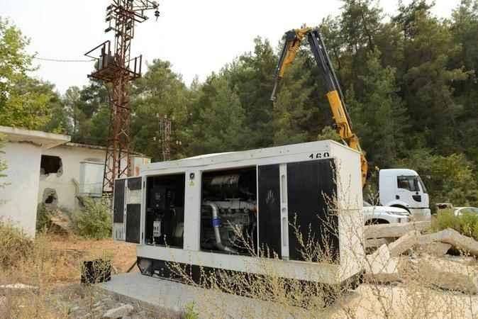 Manavgat'ta su hatları yenileniyor