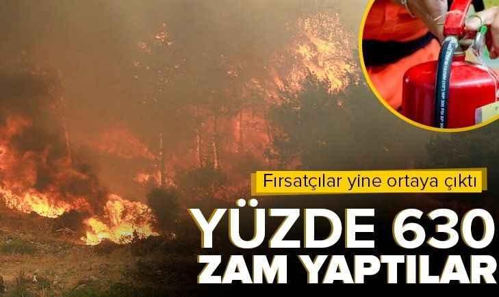 Orman yangınları fırsatçıları harekete geçirdi! Bir günde yüzde 633 zam...