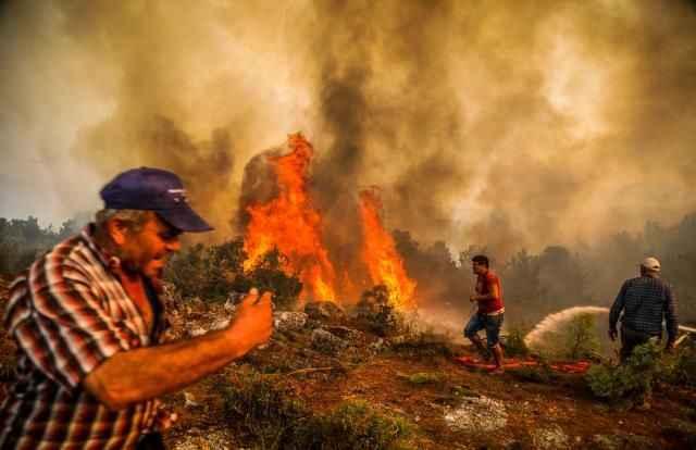 Kötü haber! 5 ilimizde devam eden yangınlara bir yenisi daha eklendi