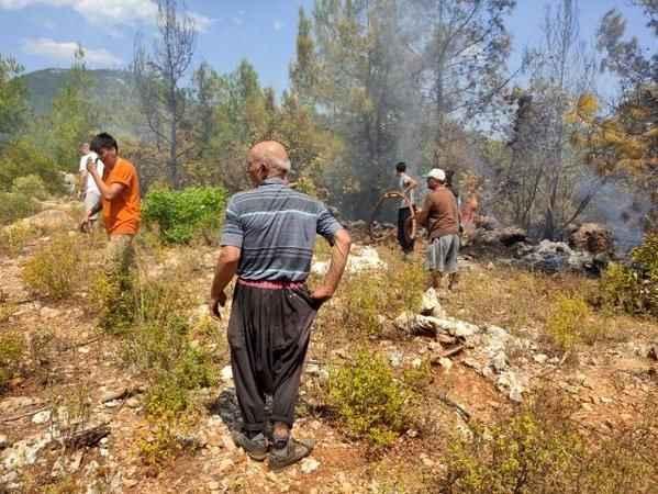 Alanya Hıdırellez'de korkutan yangın! Hızlı müdahale faciayı önledi