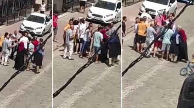 8 yaşındaki çocuğa taciz iddiası mahalleyi ayağa kaldırdı! Şüpheliyi linç etmek istediler