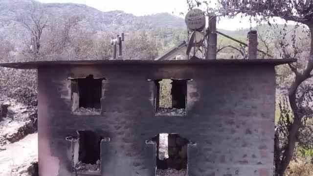 Alanya'da yangının acı bilançosu: 3 mahalle, 1 yayla, 107 ev...