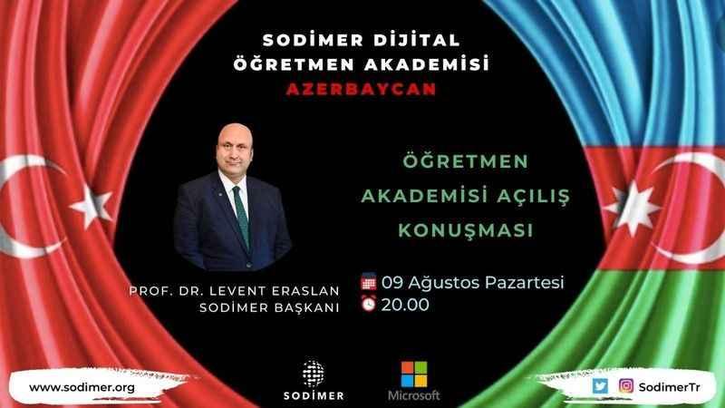 SODİMER Dijital Öğretmen Akademisi şimdi Azerbaycan'da!