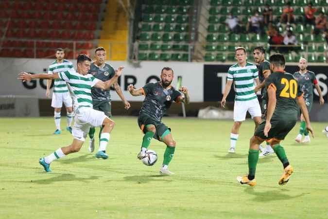 Alanyaspor'un son maç ortaya koyduğu futbol zevk vermedi