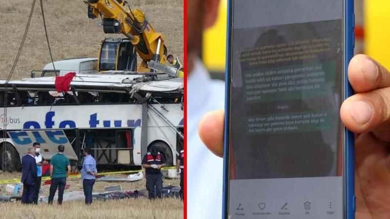 Şoförün son gönderdiği mesaj çok vahim! 15 kişi bile bile ölüme mi gönderildi?