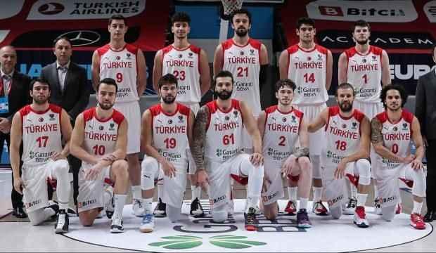 Türkiye basketbol dünya sıralamasında 16. sıraya geriledi