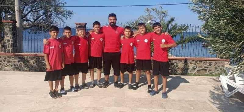 Antalya Korkuteli'den Milli Takıma güreşçi yetiştiriyorlar