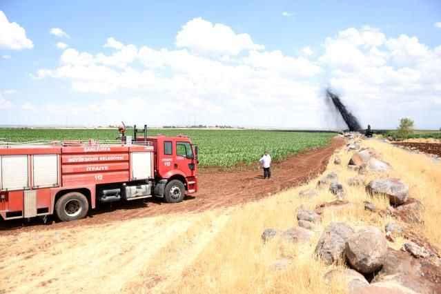 Petrol boru hattının patlamasıyla ilgili 2 kişi jandarma tarafından gözaltına alındı