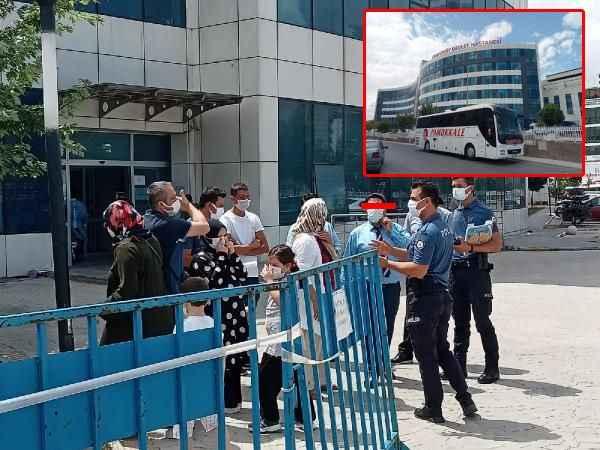 Alanya'dan yola çıkan otobüste temaslı şoför skandalı!