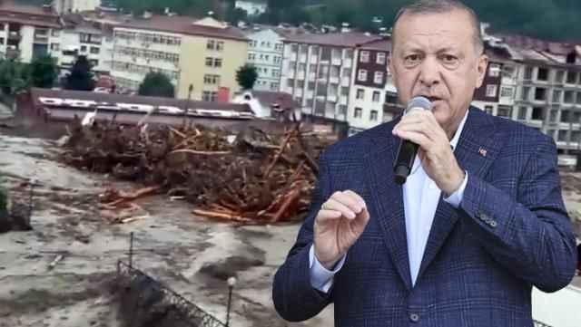 Ne olduysa 30 saniyede oldu! Bu görüntü sonrası Cumhurbaşkanı Erdoğan talimatı verdi