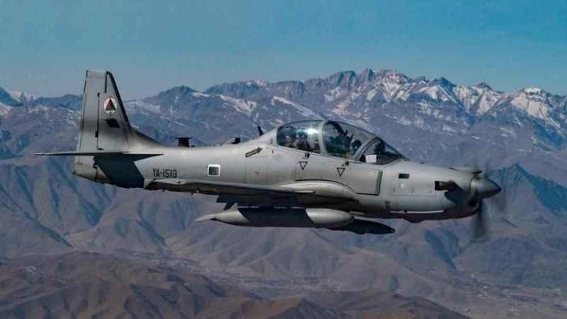 Sıcak saatler! Afganistan'a ait askeri uçağı düşürüldü