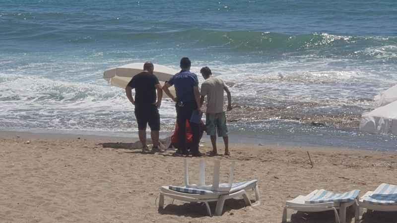 Alanya'da deniz can aldı! Serinlemek isterken yaşamını yitirdi
