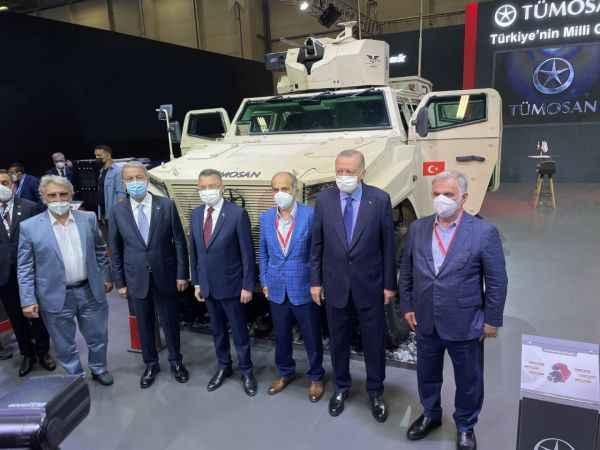 TÜMOSAN'dan yerlilik oranı en yüksek askeri araç; PUSAT