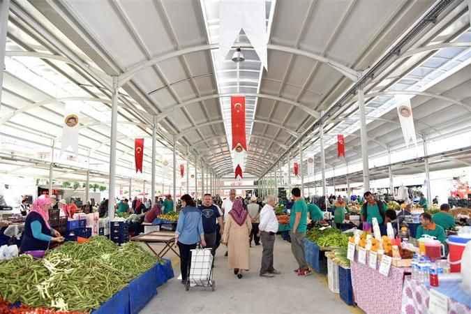 Alanya Belediyesi kapalı pazar alanı yaptıracak