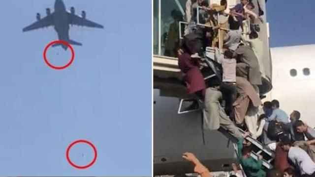 Uçaktan düşen Afganlarla ilgili tüyler ürperten rapor!