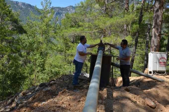 Alanya Gedevet Yaylası'nın su sorunu çözüldü
