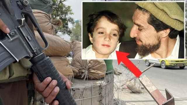 Lakabı 'Pencşir Aslanı'! Bu çocuk büyüyüp Taliban'a karşı Afgan halkının umudu oldu
