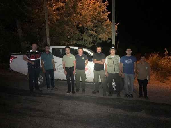 Antalya'da kaçak avcılar suçüstü yakalandı!