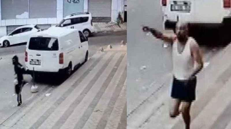 Evine evini soyan hırsızların arabasıyla döndü
