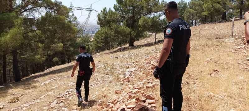 Ormandaki çığlık sesleri polisi harekete geçti