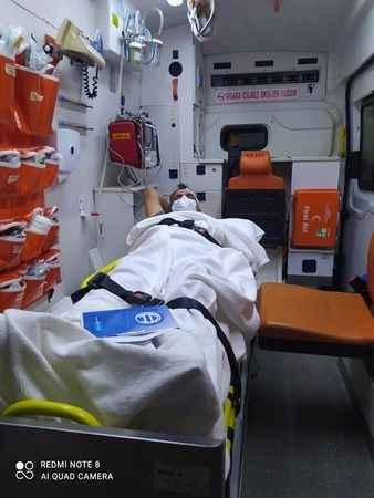 Alanya'da kaza yapan Yanar'ın imdadına o doktor yetişti