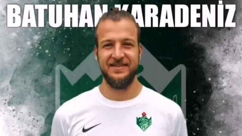 Adı Alanyaspor'la da anılan Batuhan Karadeniz, Iğdırspor'a transfer oldu