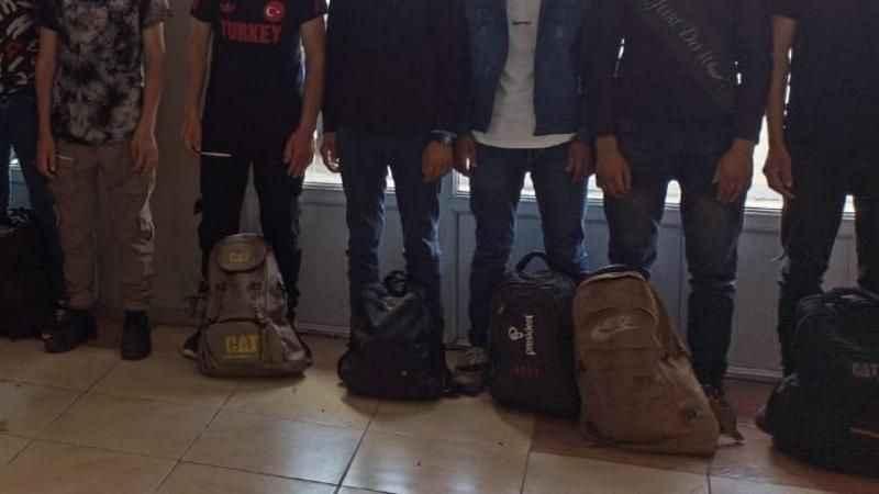 8 sığınmacı yakalandı