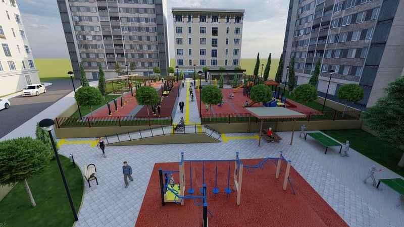 Alanya Belediyesi bir mahalleyi daha semt parkı ile buluşturacak