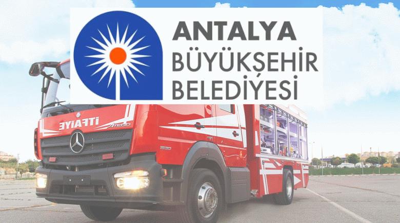 Antalya BŞB itfaiye eri alacak