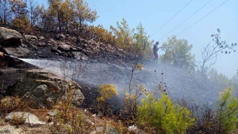 Alanya'da dumanı gören ekipler alarma geçti! Jet müdahale faciayı önledi