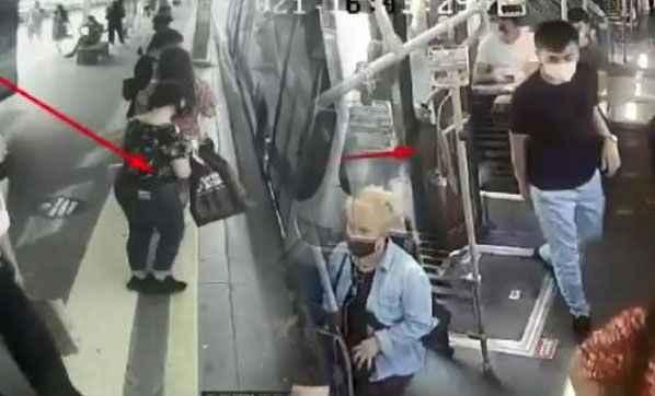 Metrobüste skandal! 3 kadın...