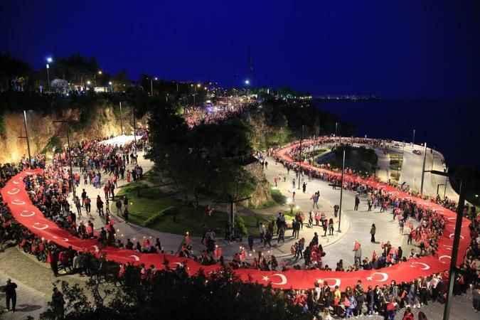 Antalya BŞB'den özel 30 Ağustos programı