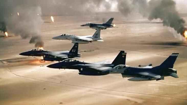 ABD'den terör örgütü DEAŞ'e hava saldırısı