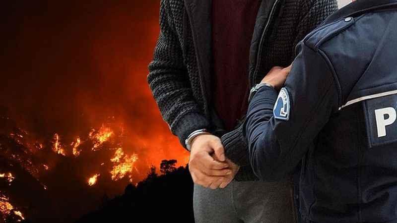 4 ayrı bölgede orman yangını çıkaran kişi tutuklandı!