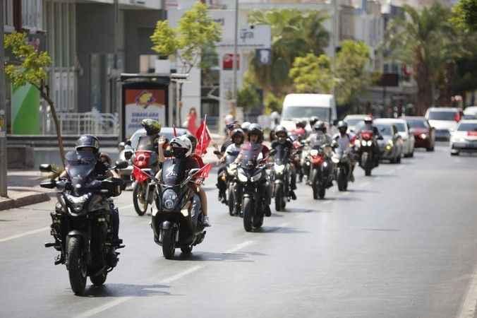 Antalya Caddelerinde büyük coşku
