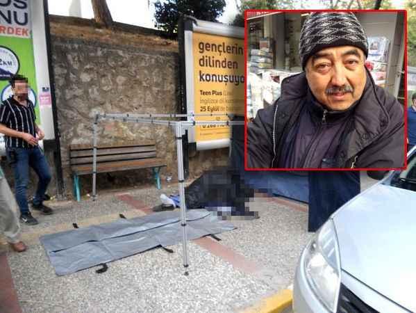 Kahreden haber! Sokakta, simit sattığı arabanın arkasında ölü bulundu